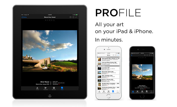 Artsystems ProFile for iPad & iPhone