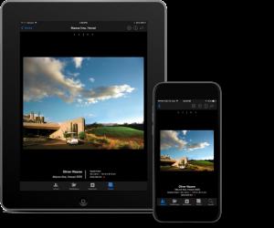 ProFile iPad/iPhone App Views