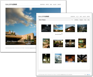 Art Gallery/Collection Website Views